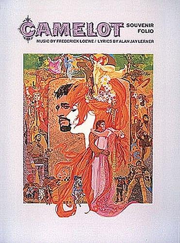 Camelot - Souvenir Folio - Frederick Loewe - laflutedepan.com