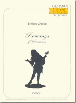 Romanza y Varianciones - Enrique Crespo - Partition - laflutedepan.com