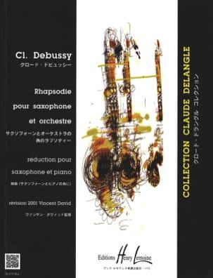 Rhapsodie DEBUSSY Partition Saxophone - laflutedepan