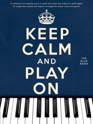 Keep calm and play on - The blue book Partition laflutedepan
