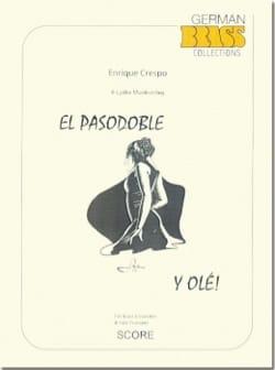 El Pasodoble y Olé Enrique Crespo Partition laflutedepan