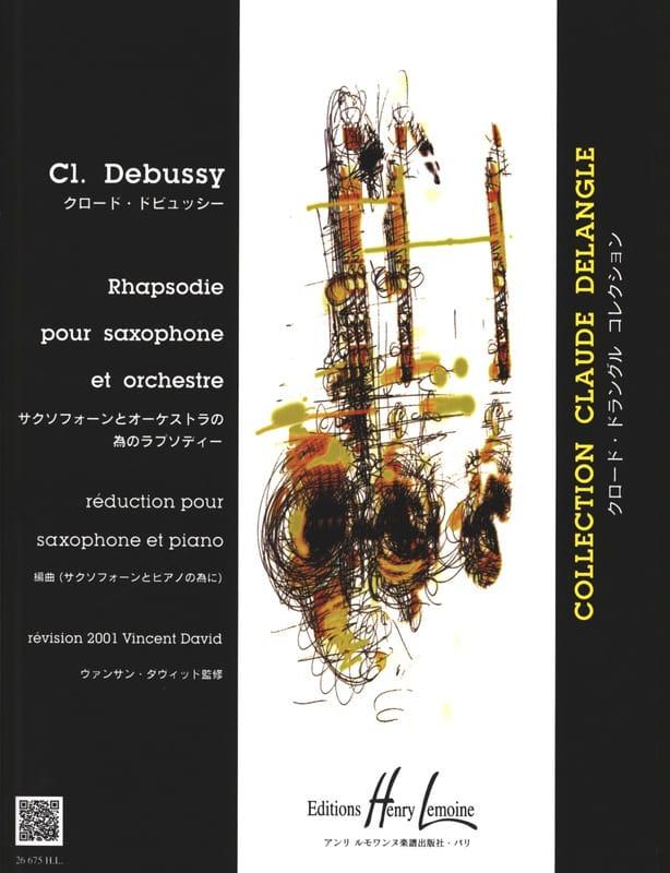 Rhapsodie - DEBUSSY - Partition - Saxophone - laflutedepan.com
