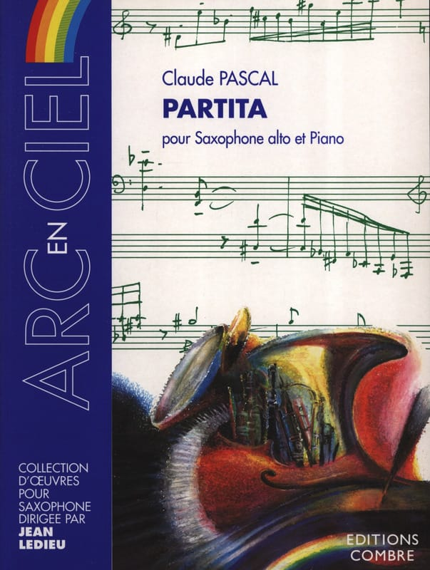 Partita - Claude Pascal - Partition - Saxophone - laflutedepan.com