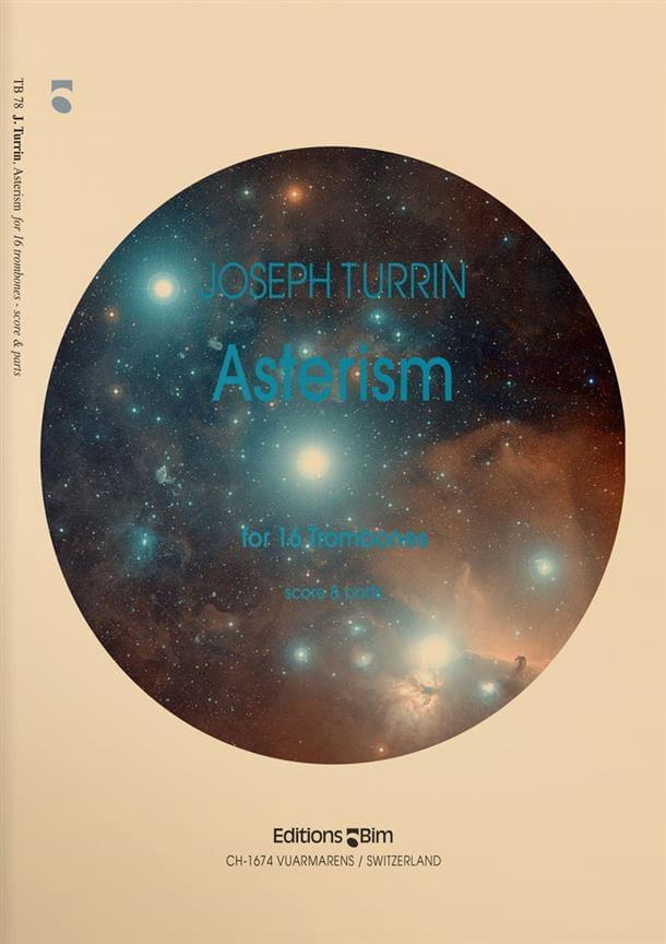 Asterism - Joseph Turrin - Partition - Trombone - laflutedepan.com
