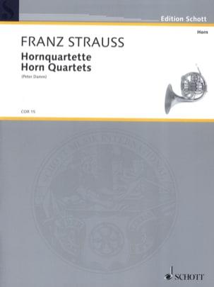 Horn Quartette Franz Strauss Partition Cor - laflutedepan