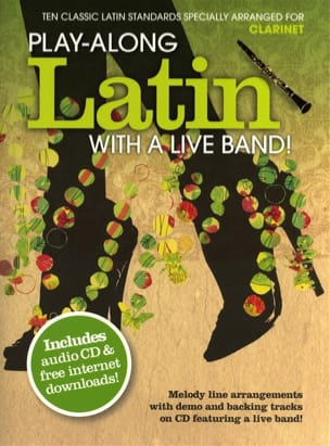 Play-along latin with a live band! Partition laflutedepan