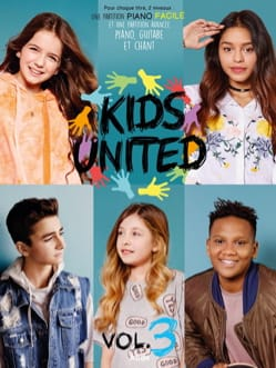 Kids United - Volume 3 Kids United Partition laflutedepan