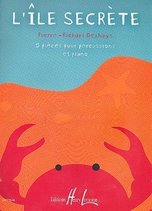 L'île secrète - 5 Pièces Pierre-Richard Deshays Partition laflutedepan