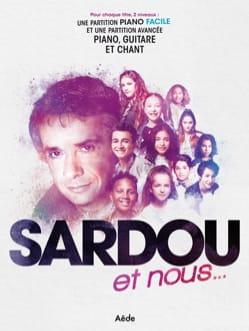 SARDOU et Nous... Michel Sardou Partition laflutedepan