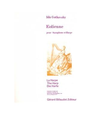 Eolienne Ida Gotkovsky Partition Saxophone - laflutedepan