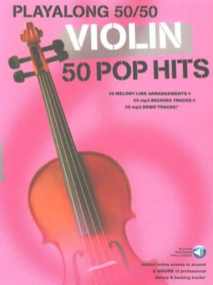 Playalong 50/50 - Violin - 50 Pop Hits Partition laflutedepan