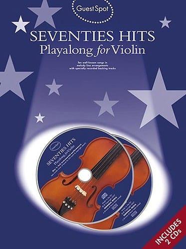 Guest Spot - Seventies Hits Playalong For Violin - laflutedepan.com