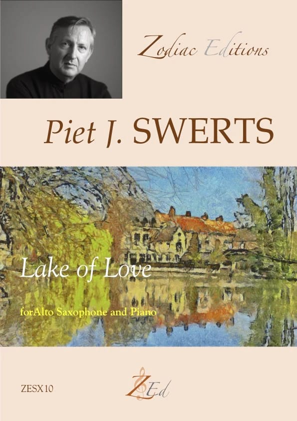 Lake of Love - Piet Swerts - Partition - Saxophone - laflutedepan.com
