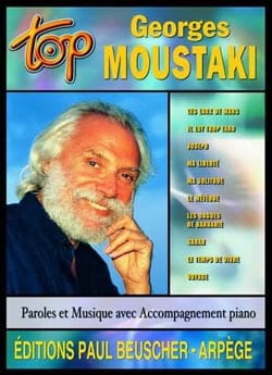 Top Georges Moustaki Georges Moustaki Partition laflutedepan
