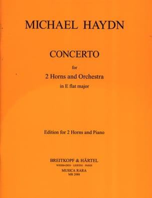 Concerto en Mib Majeur pour 2 Cors Michael HAYDN laflutedepan