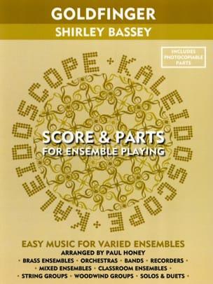 Goldfinger Shirley Bassey - Kaleidoscope John Barry laflutedepan