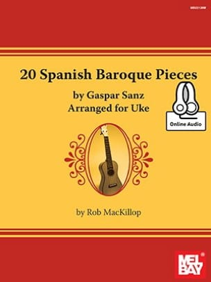 20 Spanish Baroque Pieces - Gaspar Sanz - Partition - laflutedepan.com