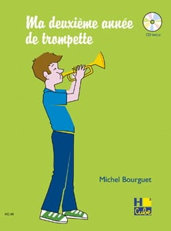 Ma 2ème Année de Trompette Michel Bourguet Partition laflutedepan
