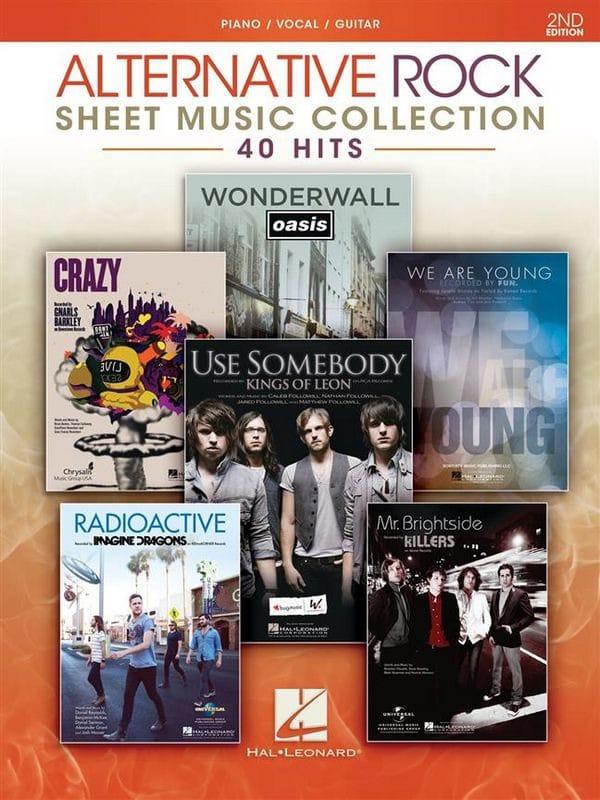 Alternative Rock Sheet Music Collection - 2nd edition - laflutedepan.com