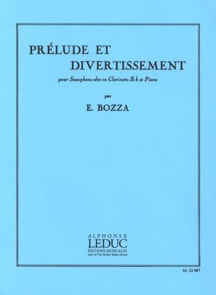 Prélude et Divertissement Eugène Bozza Partition laflutedepan