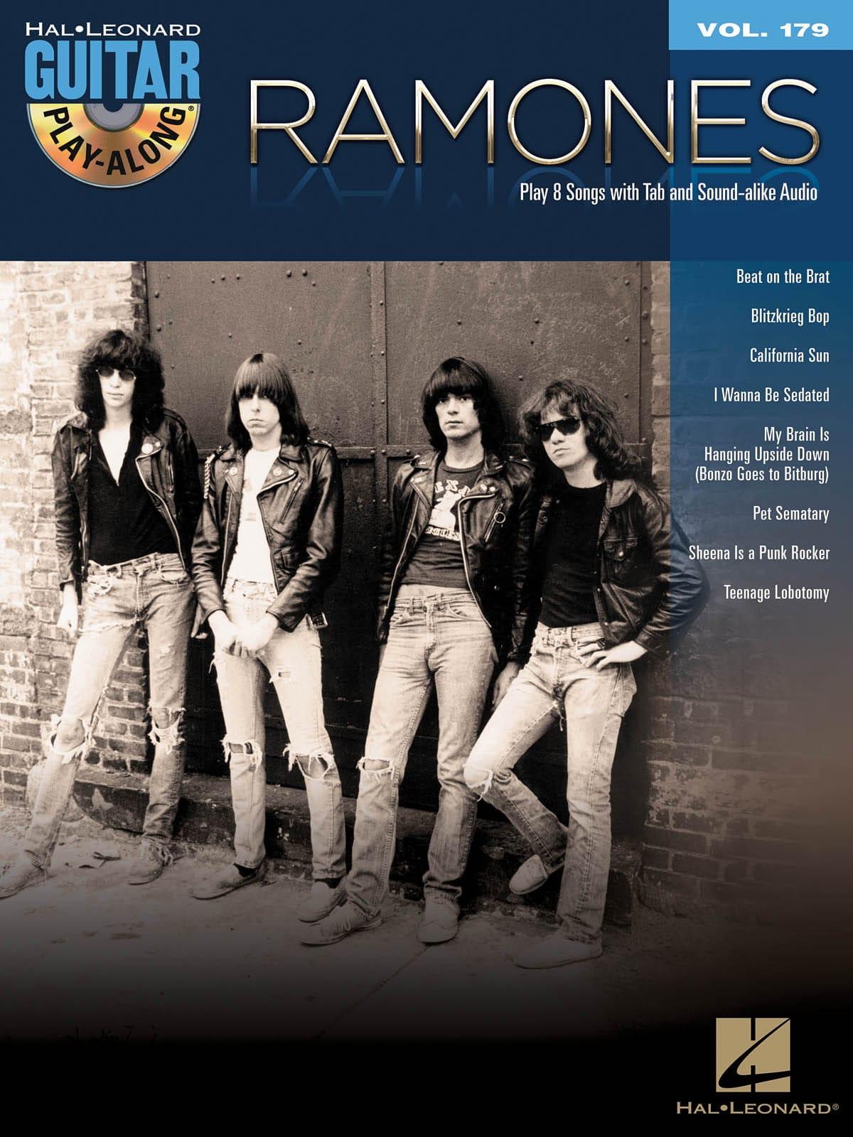 Guitar Play-Along Volume 179 - Ramones - Ramones - laflutedepan.com