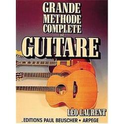 Grande Méthode Complète de Guitare Léo Laurent Partition laflutedepan