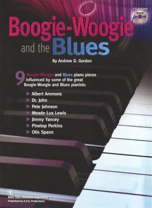 Boogie Woogie and the Blues Andrew D. Gordon Partition laflutedepan