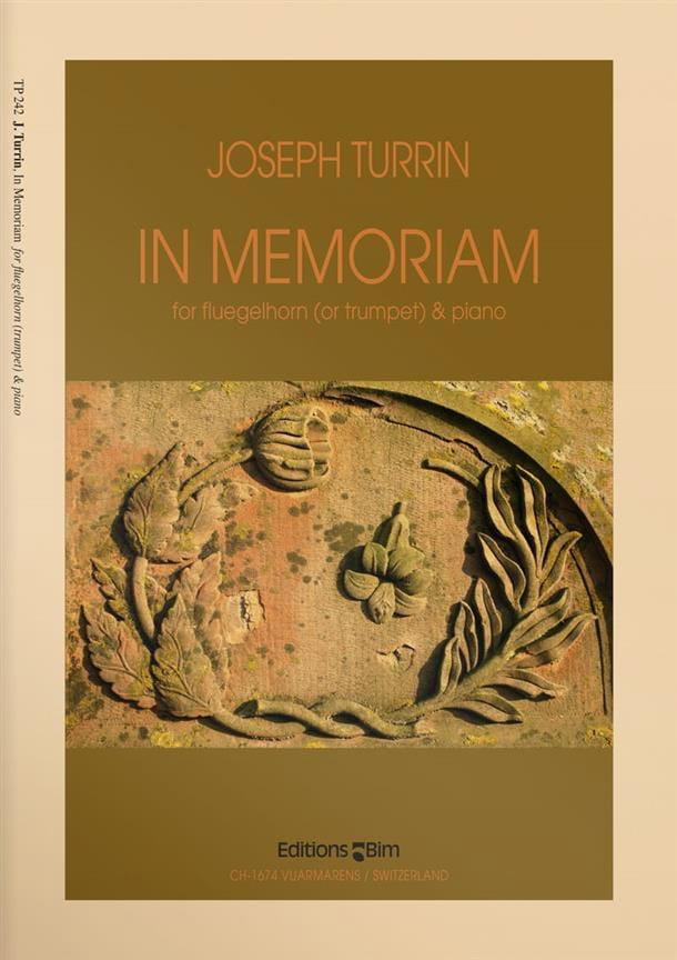 In Memoriam - Joseph Turrin - Partition - Trompette - laflutedepan.com