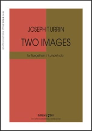 Two Images - Joseph Turrin - Partition - Trompette - laflutedepan.com