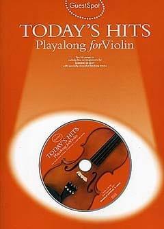 Guest Spot - Today's Hits Playalong For Violin - laflutedepan.com