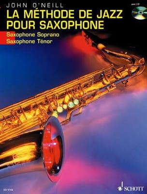 La Méthode de Jazz Pour Saxophone Neill John O' Partition laflutedepan