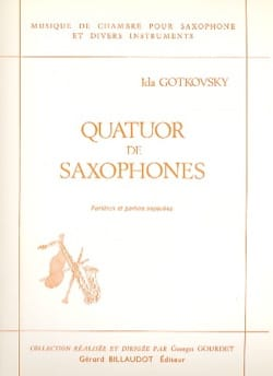 Quatuor de Saxophones - Conducteur et parties laflutedepan