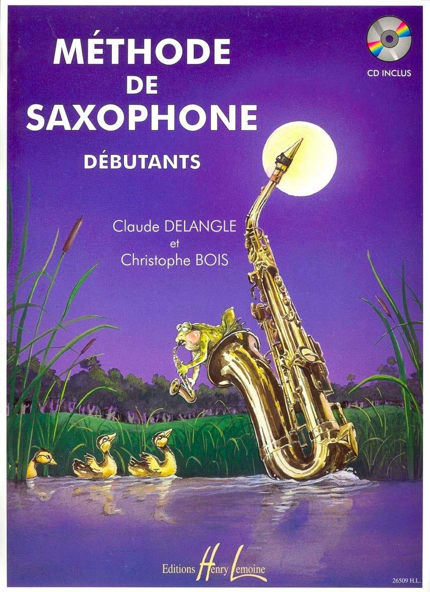 Méthode de Saxophone Débutants - DELANGLE - BOIS - laflutedepan.com