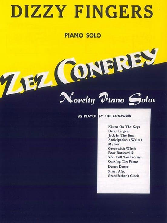 Dizzy Fingers - Zez Confrey - Partition - Jazz - laflutedepan.com