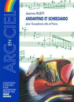 Jeanine Rueff - Andantino y Scherzando - Partition - di-arezzo.es