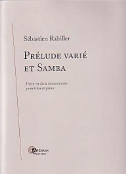 Prélude Varié Et Samba Sébastien Rabiller Partition laflutedepan