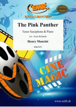 The Pink Panther MANCINI Partition Saxophone - laflutedepan