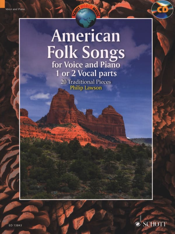American Folk Songs - Traditionnel - Partition - laflutedepan.com