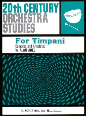 20th Century Orchestra Studies Partition Timbales - laflutedepan