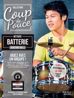 Méthode Batterie Débutant Volume 3 COUP DE POUCE laflutedepan