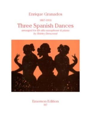 3 Dances Espagnoles - GRANADOS - Partition - laflutedepan.com