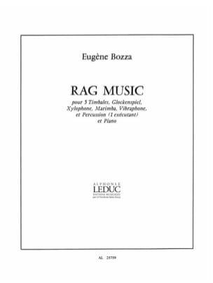 Rag Music - Eugène Bozza - Partition - laflutedepan.com