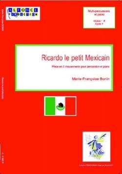 Ricardo le Petit Mexicain Marie-Françoise Bonin Partition laflutedepan
