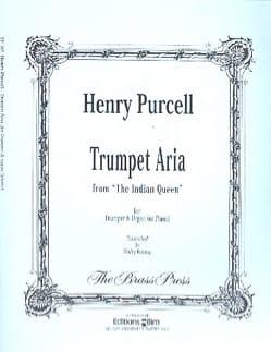 Trumpet Aria PURCELL Partition Trompette - laflutedepan