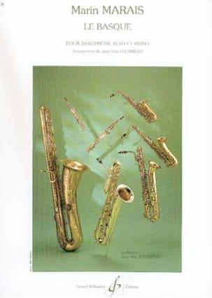 Le Basque Marin Marais Partition Saxophone - laflutedepan