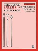15 Percussion Ensembles Sandy Feldstein Partition laflutedepan