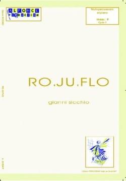 Ro.Ju.Flo Gianni Sicchio Partition Multi Percussions - laflutedepan