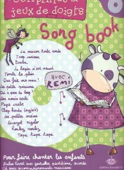 Comptines & Jeux de Doigts Song Book Rémi Partition laflutedepan