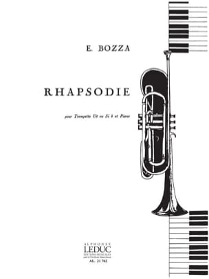 Rhapsodie Eugène Bozza Partition Trompette - laflutedepan
