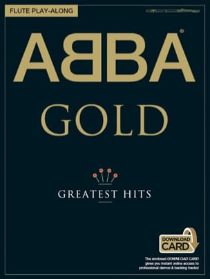 Abba Gold Greatest Hits Flute Play-Along ABBA Partition laflutedepan